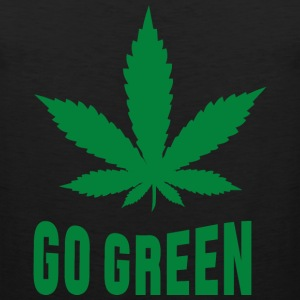 Weed Go Green T-Shirts - Men's Premium Tank