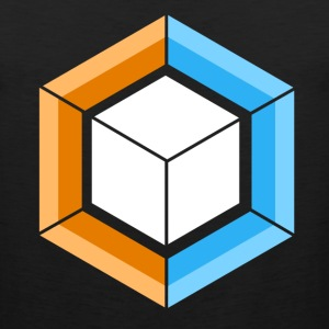 Hexagon_Cube - Men's Premium Tank