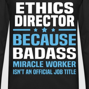 Ethics Director Tshirt - Men's Premium Long Sleeve T-Shirt