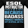 ESOL Instructor Tshirt - Men's T-Shirt