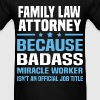 Family Law Attorney Tshirt - Men's T-Shirt