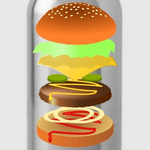 Hamburger - Water Bottle