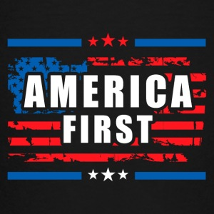 America First - President Donald Trump - Patriot 1 Kids' Shirts - Toddler Premium T-Shirt
