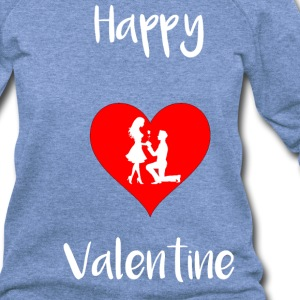 Happy Valentine - Women's Wideneck Sweatshirt