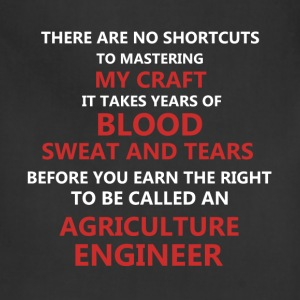 Agriculture Engineer - There are no shortcuts to m - Adjustable Apron