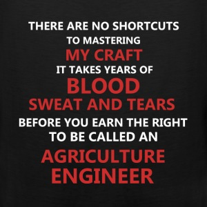 Agriculture Engineer - There are no shortcuts to m - Men's Premium Tank