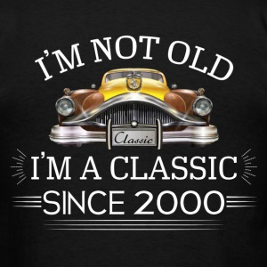 Classic since 2000 Hoodies - Men's T-Shirt
