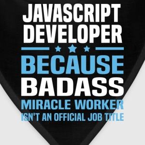 JavaScript Developer Tshirt - Bandana