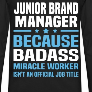 Junior Brand Manager Tshirt - Men's Premium Long Sleeve T-Shirt