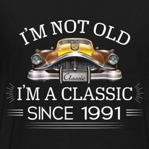 Classic since 1991 Hoodies - Men's Premium T-Shirt