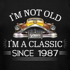 Classic since 1987 Hoodies - Men's T-Shirt