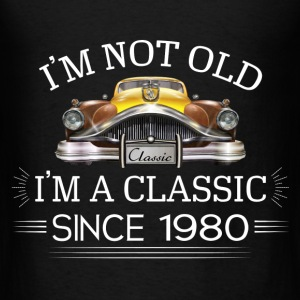 Classic since 1980 Hoodies - Men's T-Shirt