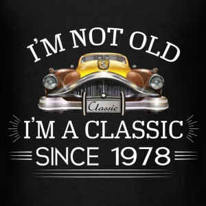 Classic since 1978 Hoodies - Men's T-Shirt