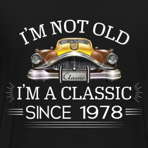 Classic since 1978 Hoodies - Men's Premium T-Shirt