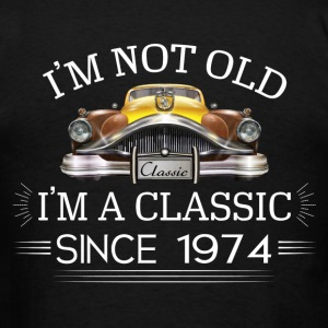 Classic since 1974 Hoodies - Men's T-Shirt