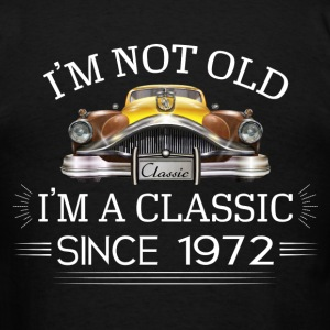 Classic since 1972 Hoodies - Men's T-Shirt