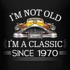 Classic since 1970 Hoodies - Men's T-Shirt