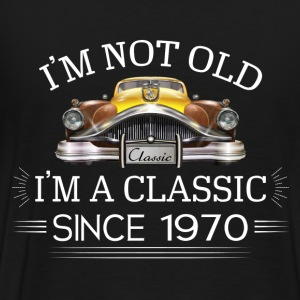Classic since 1970 Hoodies - Men's Premium T-Shirt