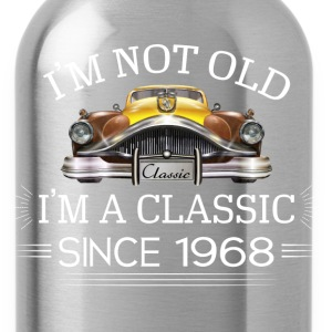 Classic since 1968 T-Shirts - Water Bottle