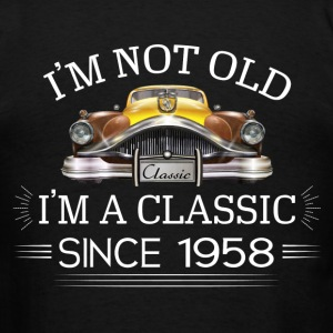 Classic since 1958 Hoodies - Men's T-Shirt