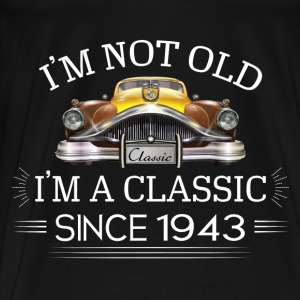 Classic since 1943 Hoodies - Men's Premium T-Shirt