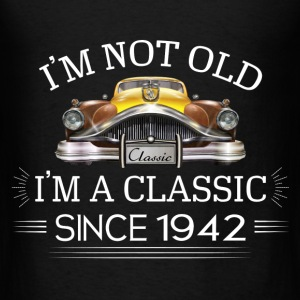 Classic since 1942 Hoodies - Men's T-Shirt