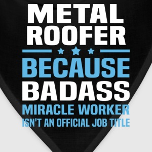 Metal Roofer Tshirt - Bandana