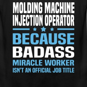 Molding Machine Injection Operator Tshirt - Men's Premium Tank