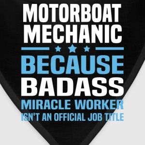 Motorboat Mechanic Tshirt - Bandana