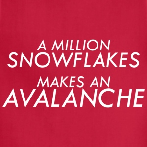 A Million Liberal Snowflakes makes an Avalanche - Adjustable Apron