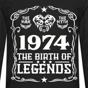 Legends 1974 T-Shirts - Men's Premium Long Sleeve T-Shirt