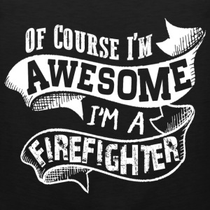 Awesome Firefighter T-Shirts - Men's Premium Tank