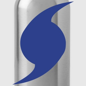 Hurricane Symbol - Water Bottle
