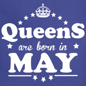Queens are born in May - Adjustable Apron