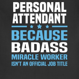 Personal Attendant Tshirt - Adjustable Apron