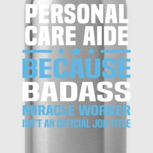 Personal Care Aide Tshirt - Water Bottle