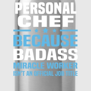 Personal Chef Tshirt - Water Bottle