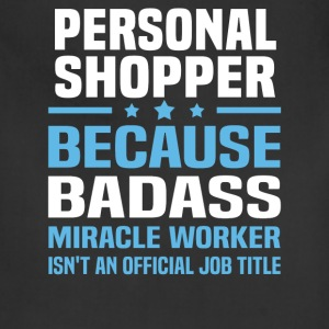 Personal Shopper Tshirt - Adjustable Apron