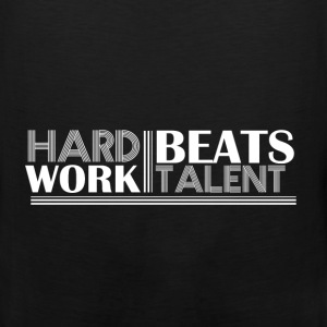 Motivation - Hard work beats talent - Men's Premium Tank