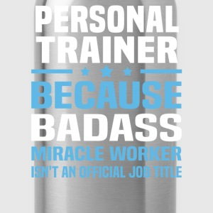Personal Trainer Tshirt - Water Bottle