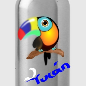 tucan colombiano - Water Bottle
