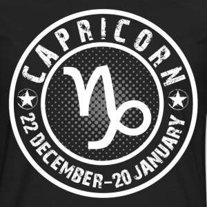 -CAPRICORN- T-Shirts - Men's Premium Long Sleeve T-Shirt