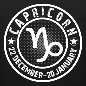 -CAPRICORN- T-Shirts - Men's Premium Tank