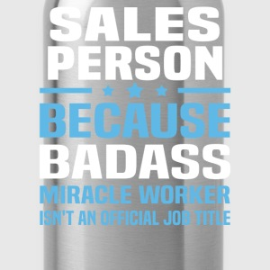 Sales Person Tshirt - Water Bottle