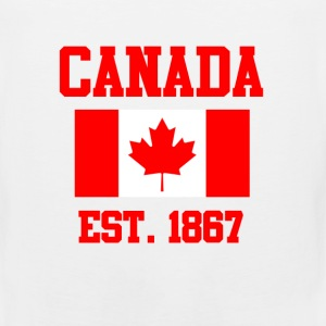 Canada Flag Day T-Shirts - Men's Premium Tank