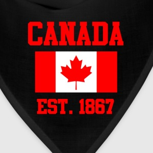 Canada Flag Day T-Shirts - Bandana