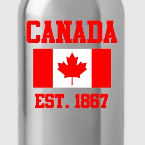 Canada Flag Day T-Shirts - Water Bottle