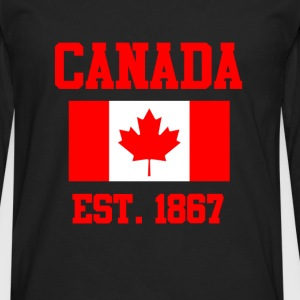 Canada Flag Day T-Shirts - Men's Premium Long Sleeve T-Shirt