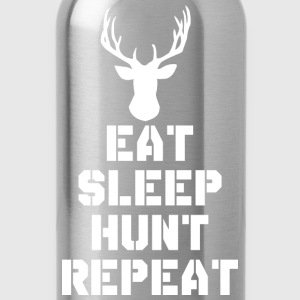 Eat Sleep Hunt Repeat T-Shirts - Water Bottle