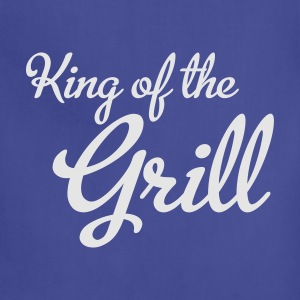 King of the Grill T-Shirts - Adjustable Apron